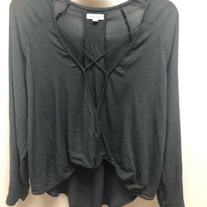 Silence Noise criss cross top